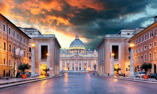 Vatican, Rome - Conciliazione street